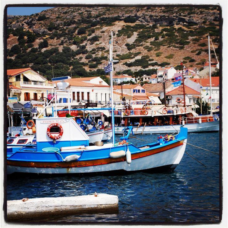 Der Hafen von Pythagorion