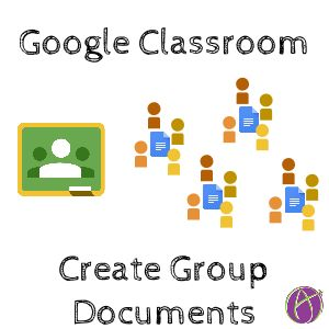 One request I am often asked about Google Classroom is how to create documents for small groups. If you create a copy of a document for each student then each group member receives a copy, which ca…