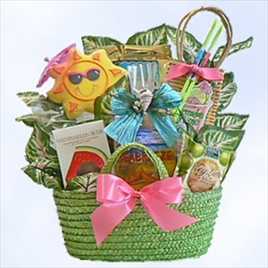 A gift that will be popular with summer lovers whether they are poolside, surf-side, or just outside relaxing! Featuring tasty treats like Sea Breeze Snack Mix, Watermelon Buds Candy, and Snickerdoodle Cookies.: Breeze Snack, Gift, Snack Mixes, Watermelon Buds, Buds Candy