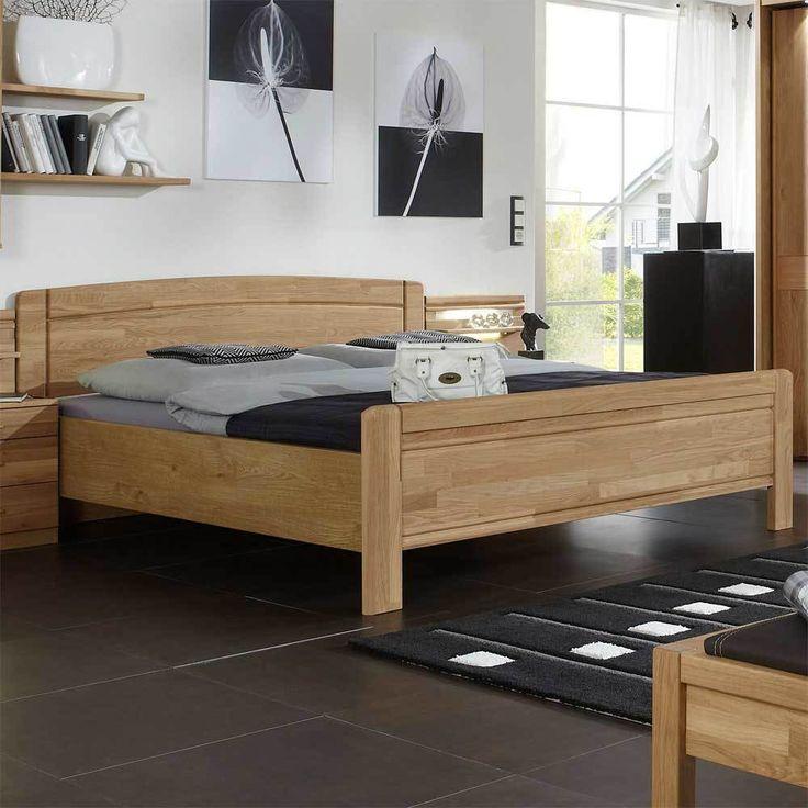 Die besten 25+ Massivholzbett Ideen auf Pinterest Holzbetten - schlafzimmer eiche massiv