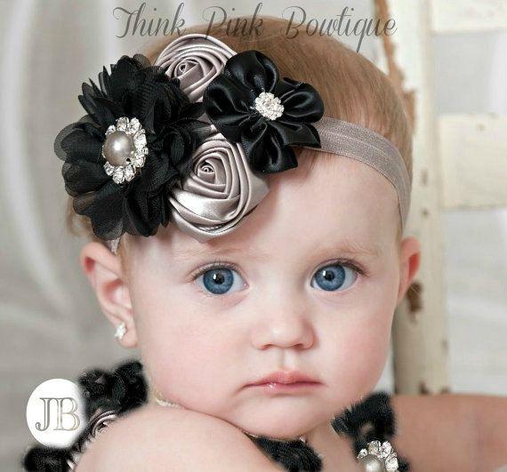 Inspiration. Baby headband, baby headbands, Christmas Headband, headband,newborn headband,shabby chic headband,couture baby headband,flower headband.