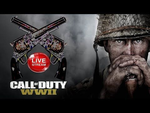 Let's Play Call Of Duty WW2 MULTIPLAYER | PlayStation 4 Pro 1080p Live S...