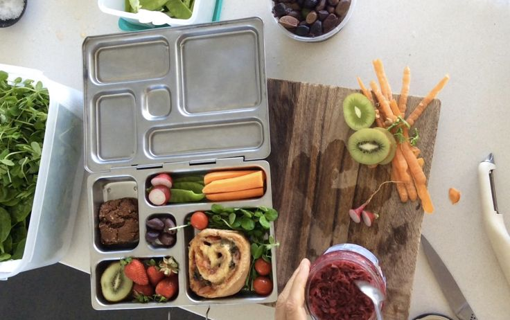 How to pack a nourishing school lunch box, by Georgia Harding of Well Nourished. Find PVC & BPA free, waste free, reusable lunch boxes online at www.biome.com.au.