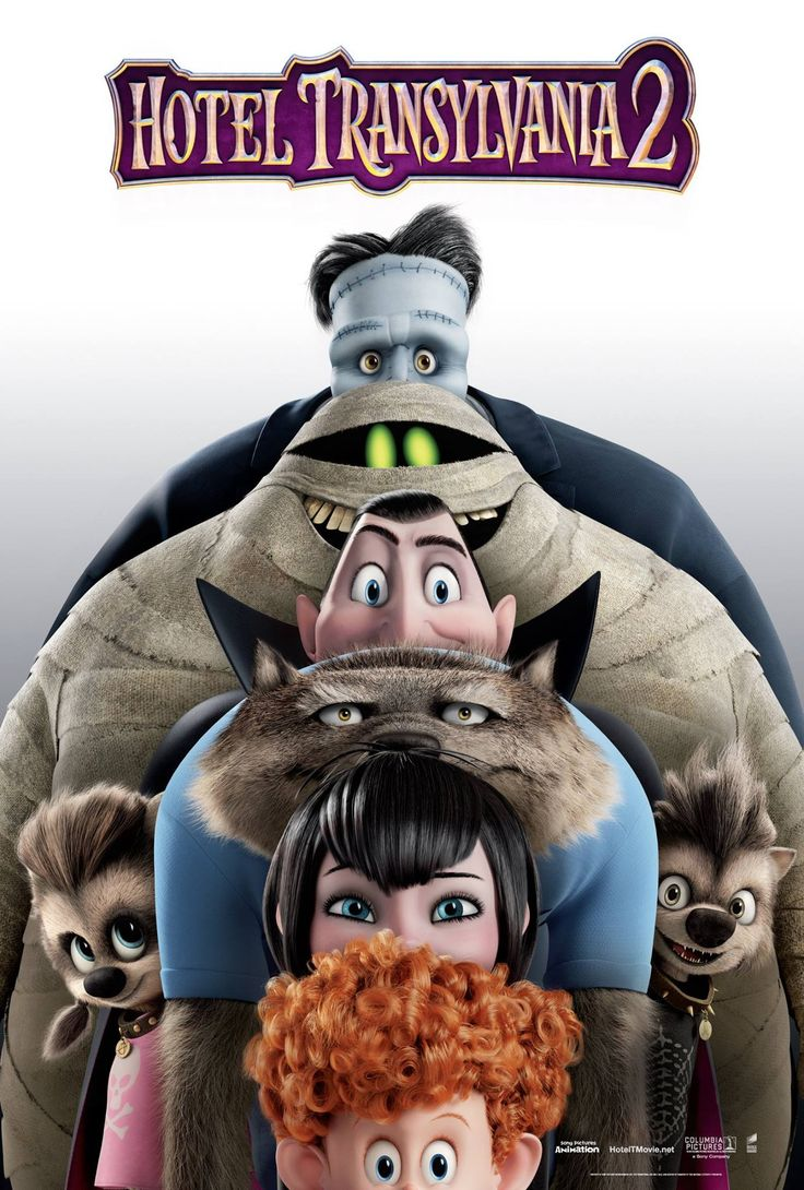 A New Hotel Transylvania 2 Poster Features a Monstrous Lineup - ComingSoon.net
