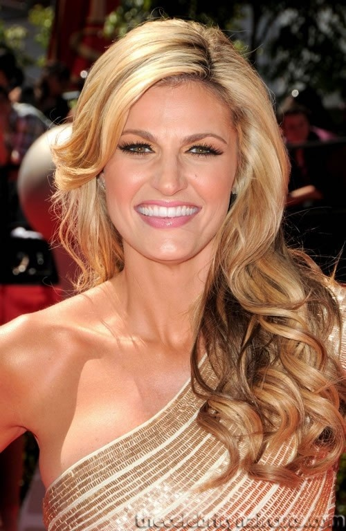 Erin Andrews new DWTS hostess. Brooke is gone and Erin is in.