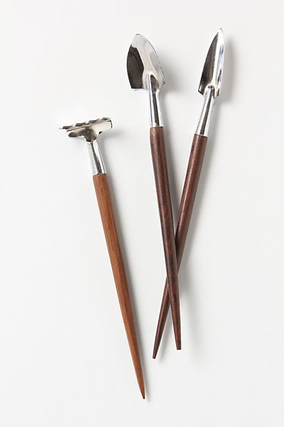 Great Terrarium Tools #anthropologie Perhaps They Are Too Pointy For Toddlers,  But They Are A