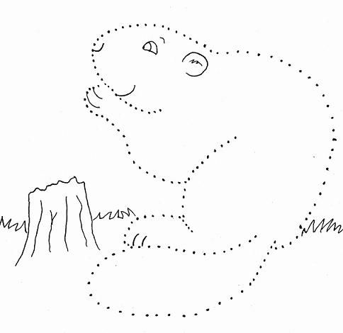 Free Dot to Dot for little ones