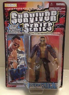 (TAS012652) - WWF WWE Vintage Wrestling Figure Survivor Series 4 - The Rock