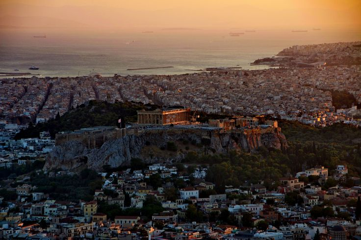 Lykavittos, Athens. The place to be when the sun sets.