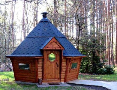 Large BBQ Cabins