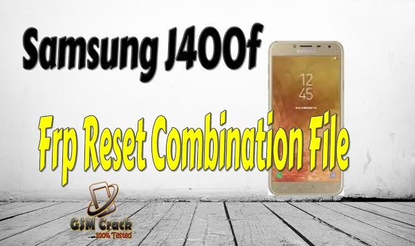 Samsung J600f Root File