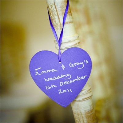 Emma & Graham's Wedding - Purple Wedding Colour Theme