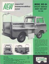 1957 Jeep FC150 FC170 Utility Service Body Brochure