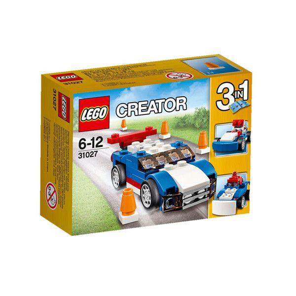 Lego Creator 3IN1, Blå racerbil