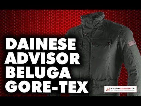 Konfor ve Su Direnci Yüksek - Dainese Advisor Beluga Gore-Tex Mont