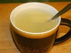 Garlic Tea for colds and sniffles..