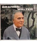 BRUNO WALTER, Brahms: Symphony No. 2 in D Major... - $2.75