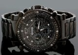 http://www.cheapgshockwatches.net - Review JoJino 2.25ctw Mens Diamond Watch J1173-SS | Cheap G Shock Watches