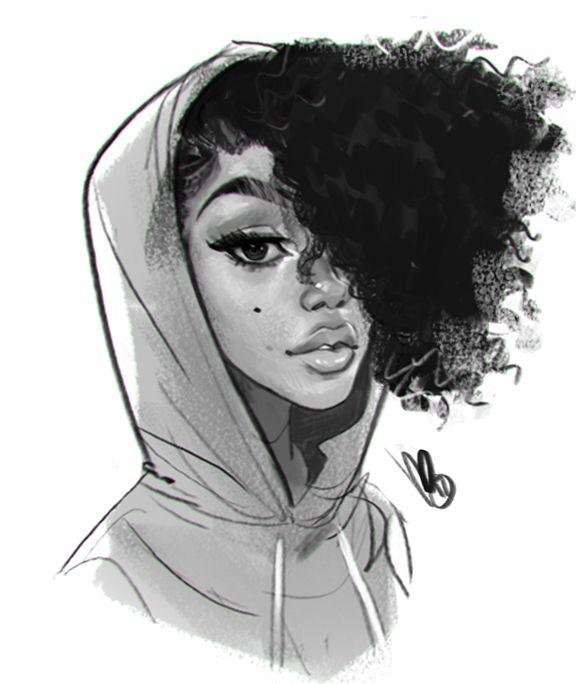 drawings of black