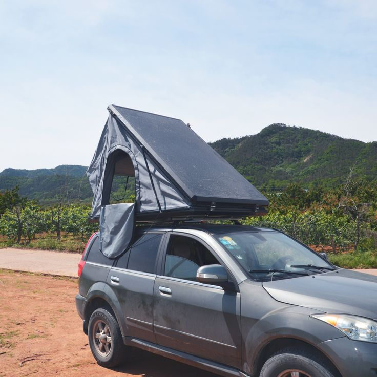 Pin on Hard shell roof top tent