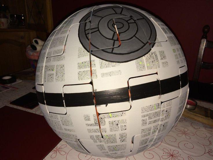 Star Wars Death Star light. DIY IKEA hack