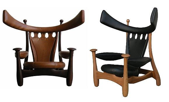 Cadeira chifruda - Sergio Rodrigues