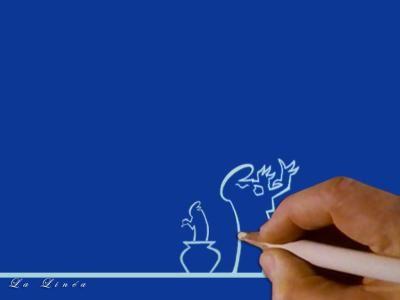 La Linea est une série télévisée d'animation italienne en 90 épisodes d'environ trois minutes créée en 1972 par le dessinateur Osvaldo Cavandoli. En France, la série a été diffusée à partir de 1977 sur TF1 dans L'Île aux enfants et sur Cellulos sur La Cinquième dans les années 90.