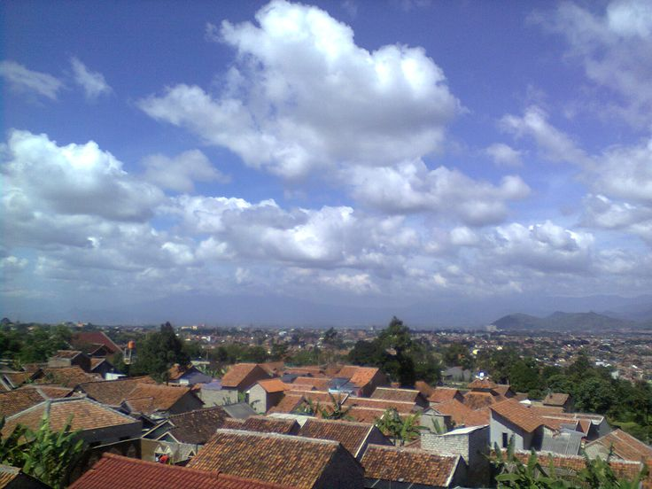 the view of my town