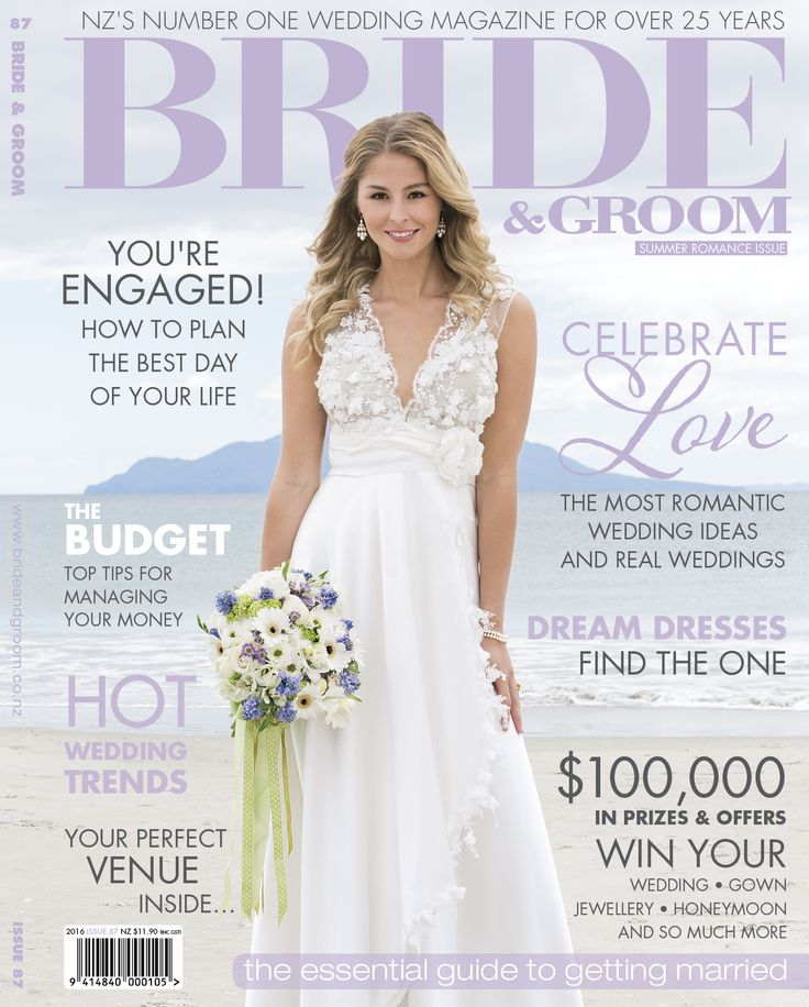 WILD JEWELS on the COVER OF BRIDE & GROOM MAGAZINE! So cool!