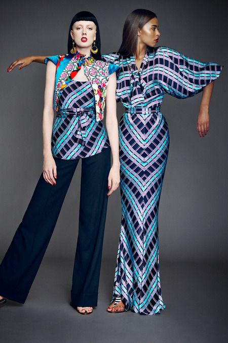 The Print Master is at it again: Duro Olowu Spring 2014. More pictures here, after the click: http://www.africanprintinfashion.com/2013/10/the-print-master-is-at-it-again-duro.html