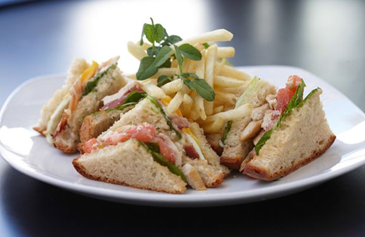Club sandwich #clubsandwich #lunch #chips #Cloudsestate http://cloudsestate.com/home-8.html