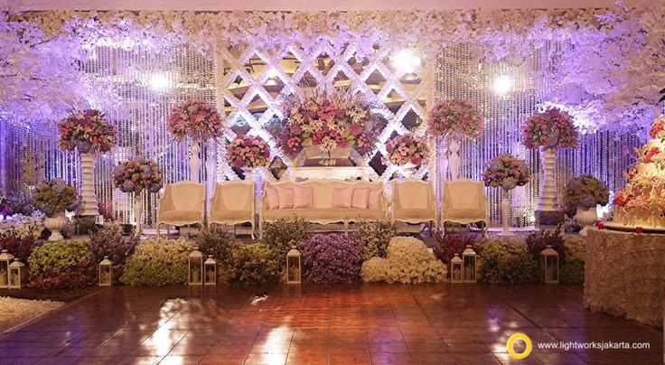 Beautifully made by the decorator Lotus Decoration and the lighting designer Lightworks   www.lightworksjakarta.com