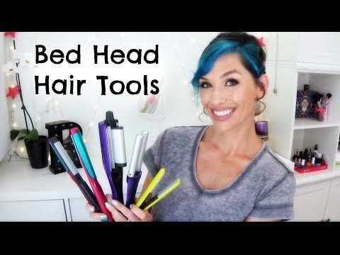 (193) 3 Bed Head Hair Tools Crimper, Waver, Straightener - YouTube