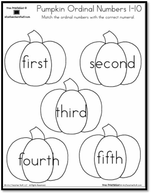 pumpkin ordinal numbers-pg8