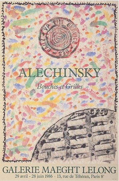 Alechinsky - Bouches-Grilles 1
