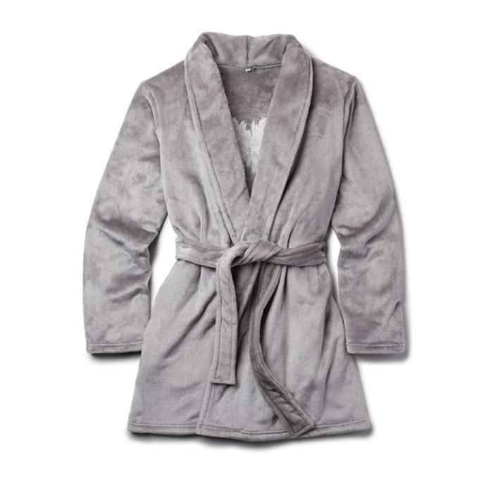 After a shower, slip into super softness with the cozy, extra-plush robe fit for a queen.Part of the Winter Soft Collection. Snowflake embroidered on back MATERIALS Polyester CARE Machine wash cold, gentle cycle, with similar colors; do not use chlorine bleach. Tumble dry low, remove promptly, cool iron as needed. $34.99 #winter #christmas
