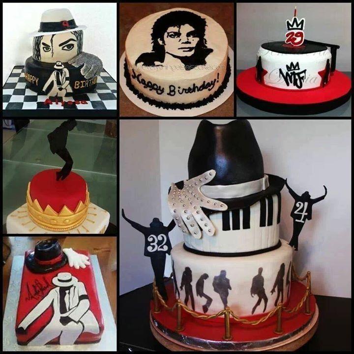 Michael Jackson cakes