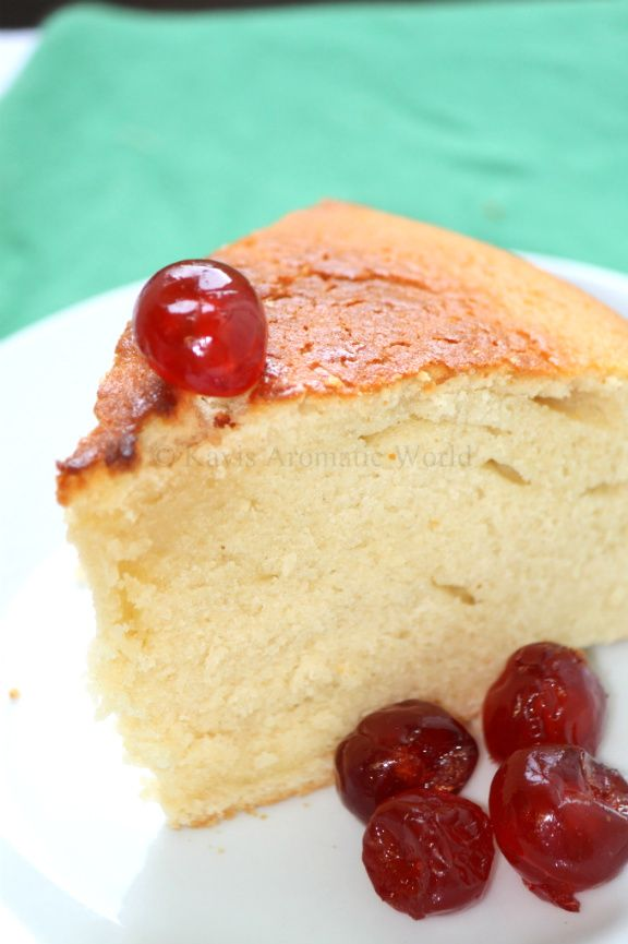 My Cookingdom: Hot Milk Cake .... This is the recipe from my grandmother that was lost! So quick, easy to make ..