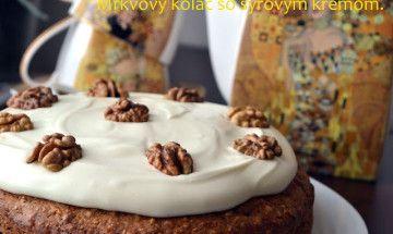 Mrkvový koláč so syrovým krémom