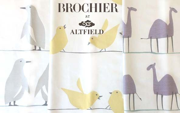 The countdown is on! @BROCHIER Clerici Tessuto Clerici Tessuto 'incontro collection'....The fabric every royal baby's nursery needs.