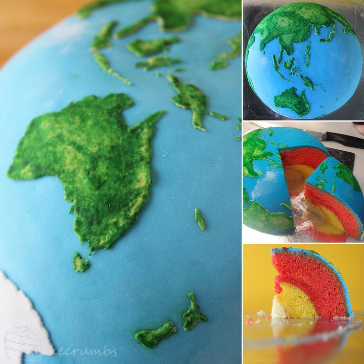 The Earth Structural Layer Cake  http://cakecrumbs.livejournal.com/55884.html