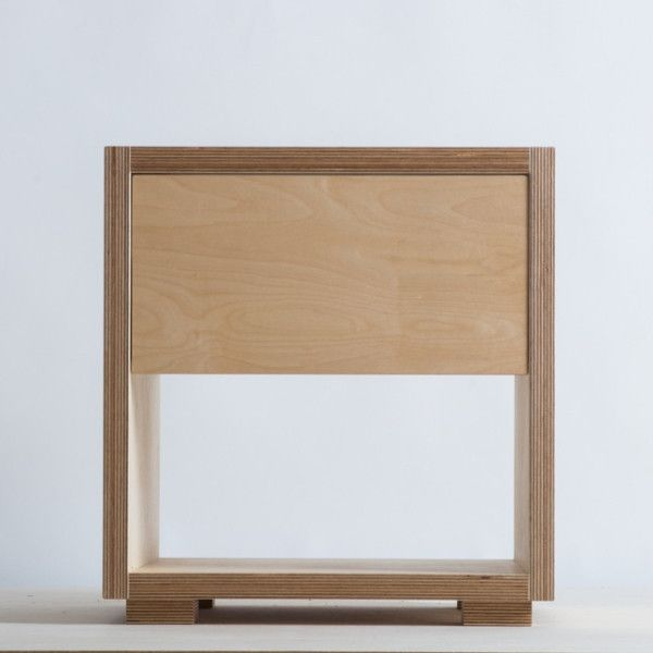 1000 ideas about bedside cabinet on pinterest 2 door for Plywood bedside table