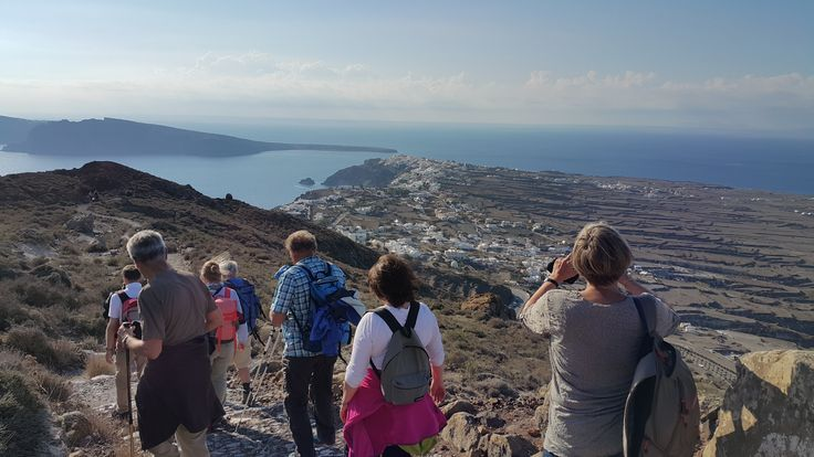 Arriving in #Oia