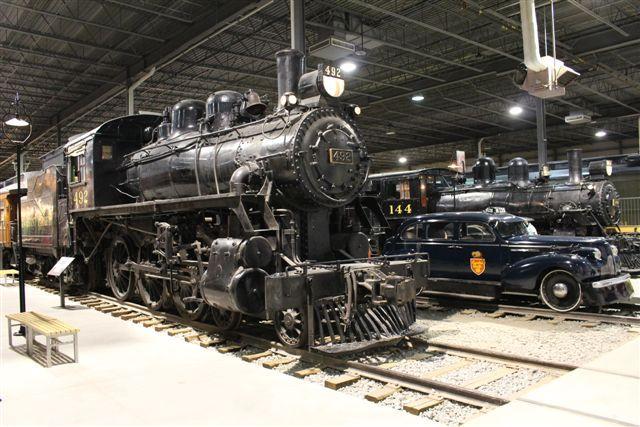 Locomotive CPR 492 & CPR 144 & Inspection Car CPR M-235 #exporail #trains #musée #museum