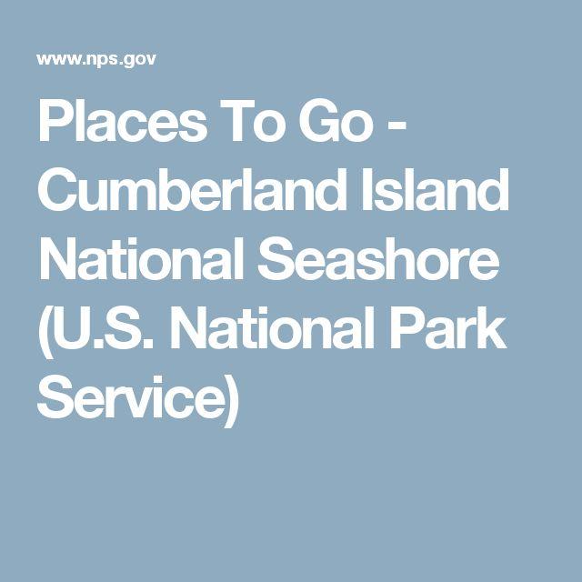 Places To Go - Cumberland Island National Seashore (U.S. National Park Service)