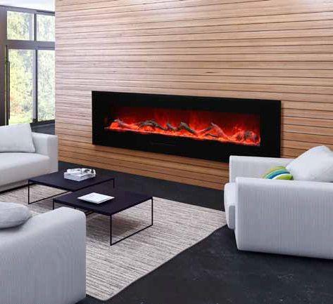 Amantii WM-FM-72-8123-BG-EMBER electric #fireplace.