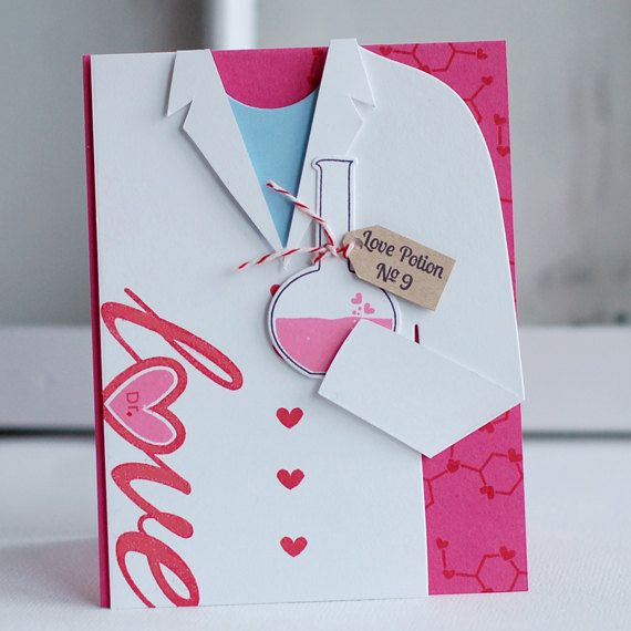 LOVE POTION card Valentines Anniversary or by cardsyoucantmiss, $5.99