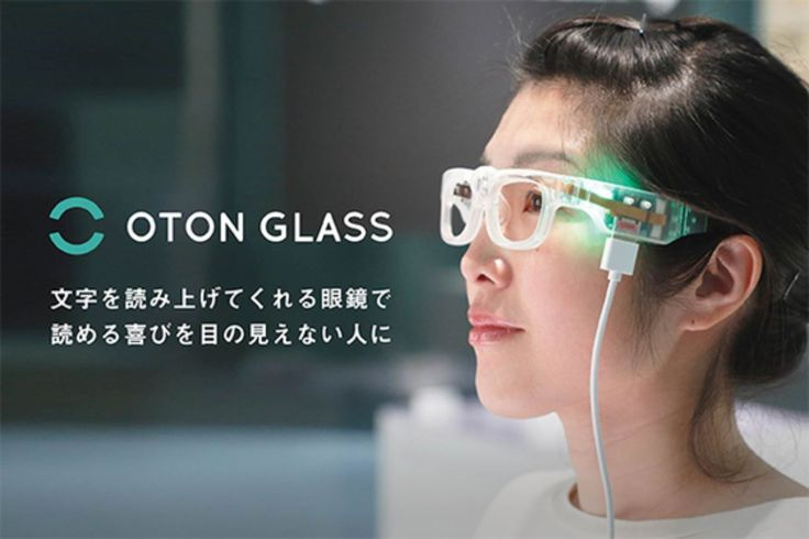 Oton GLASS Eyewear Reads Text To Visually Impaired People #Android #Google #news