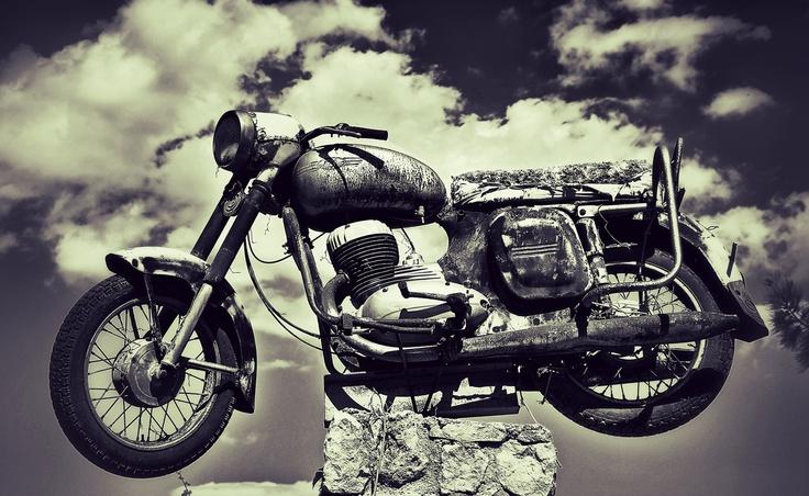 1970 Jawa 559 #Bike #Jawa #Motorcycle #Chopper #Classic #Vintage #Turkey