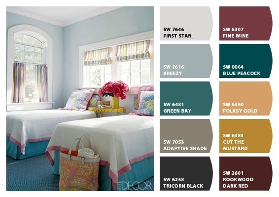 little girl's room color scheme